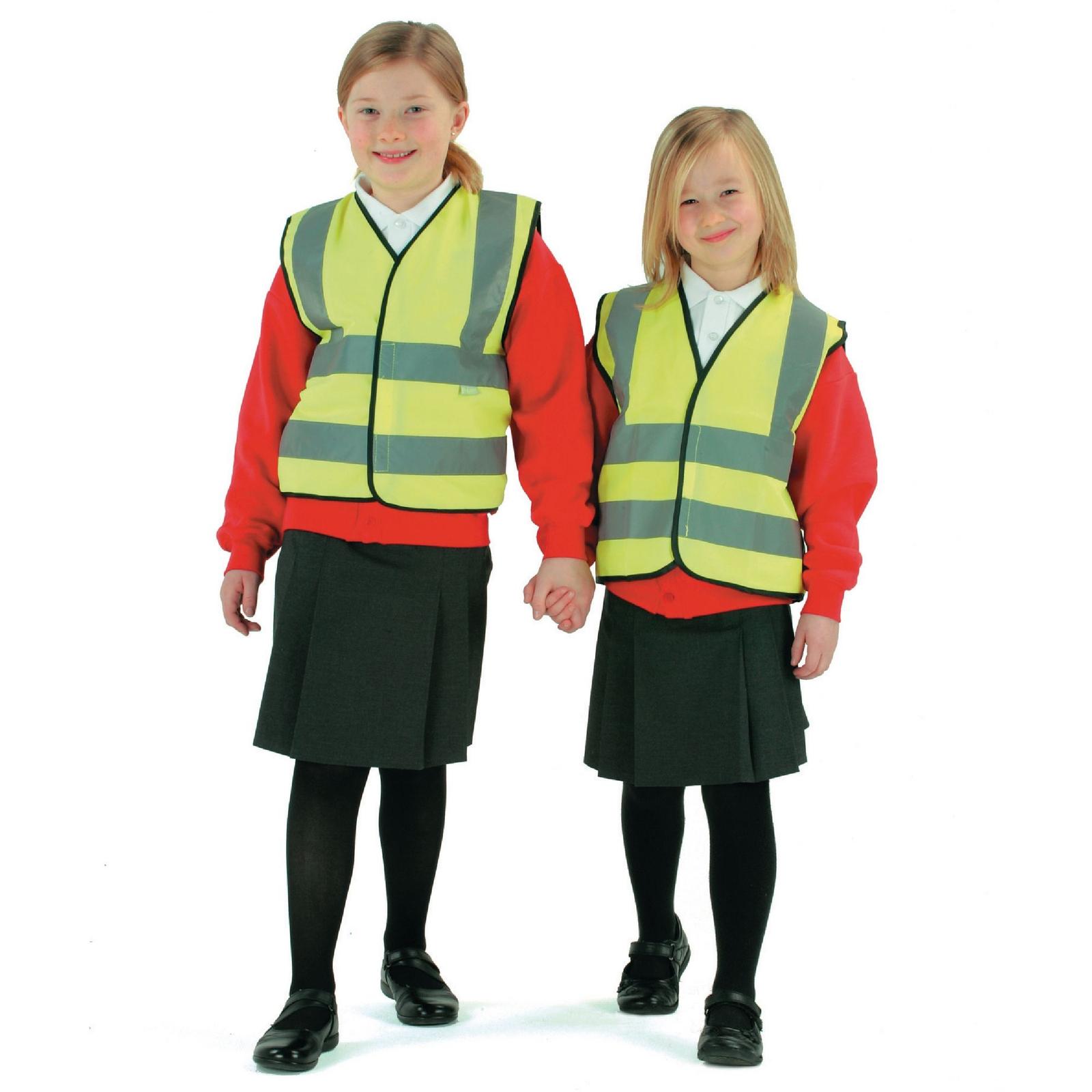 Children's High Visibility Waistcoat - 4-6 Years