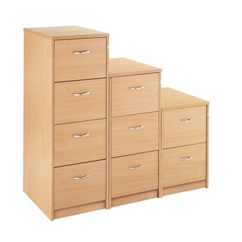 Clmates Wooden Filing Cabinet 4 Drawer