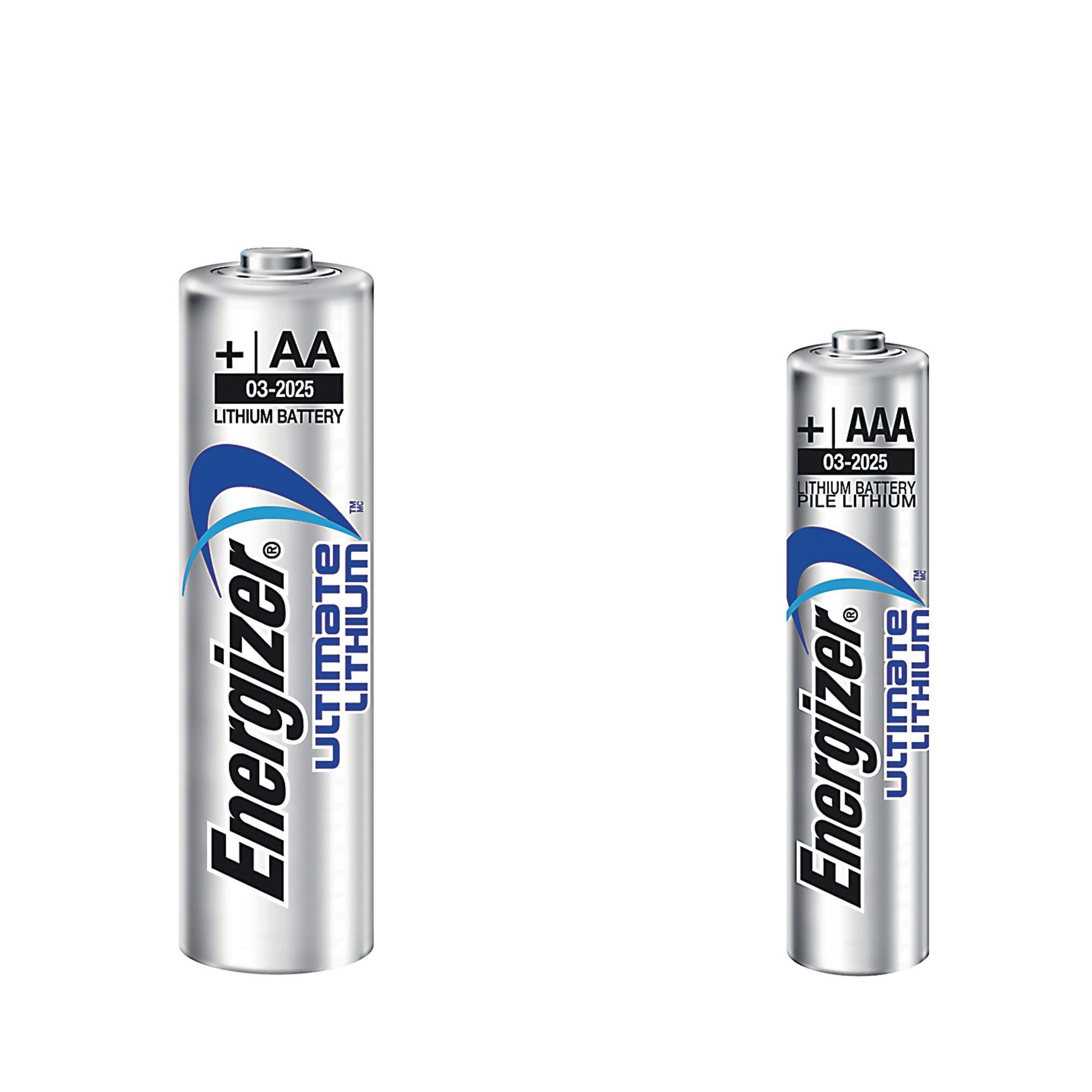 Lithium Batteries AA LR6 P4