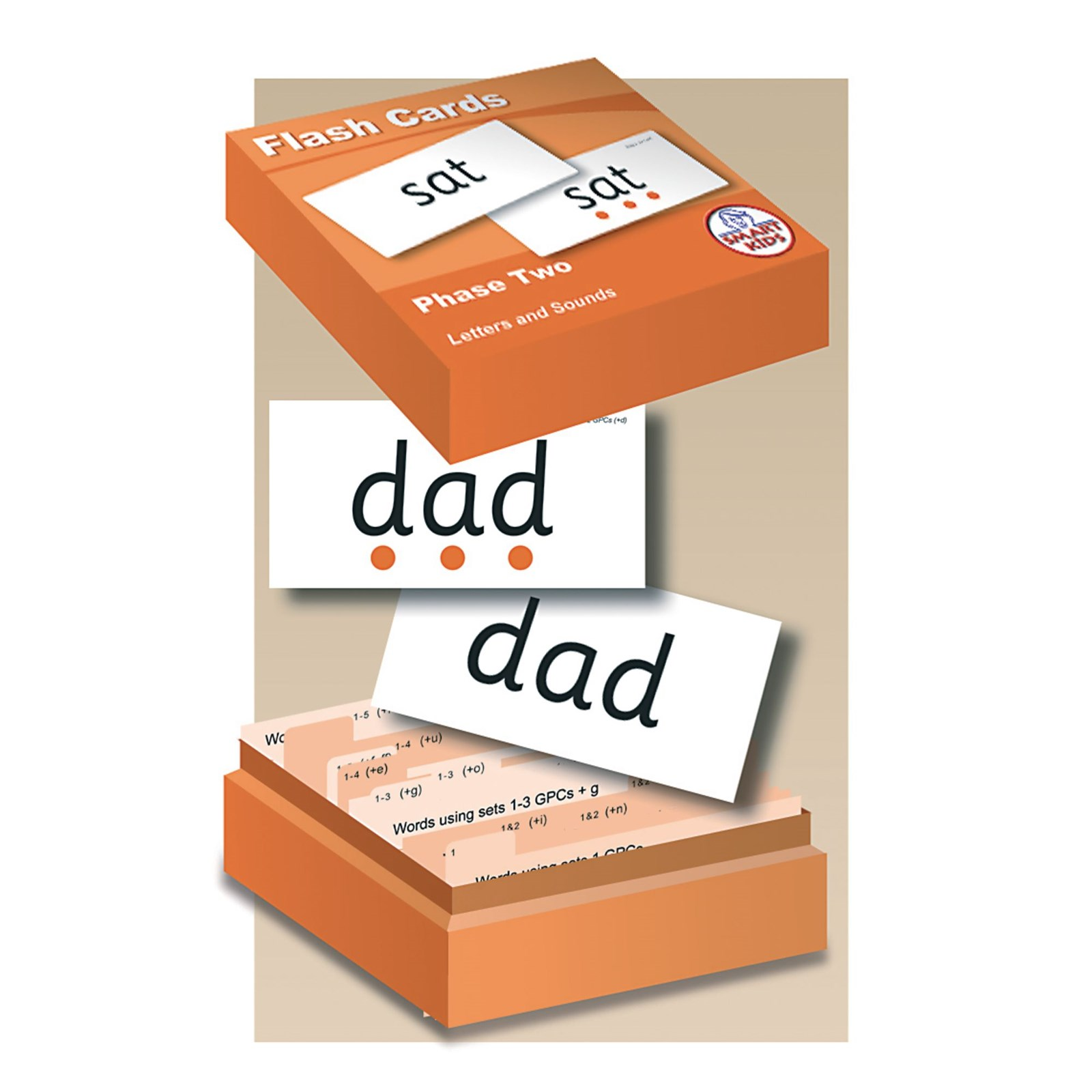 Phase 2 Flash Cards Pack of 204