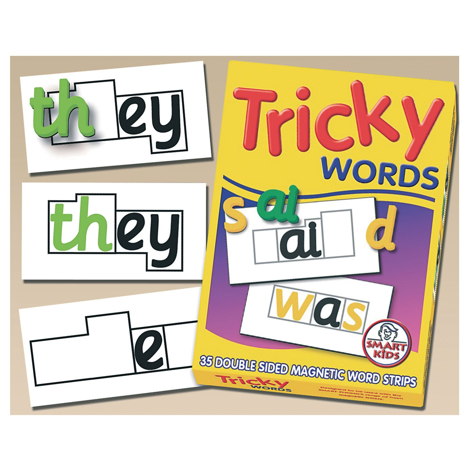 Tricky Words Magnets Pack of 35