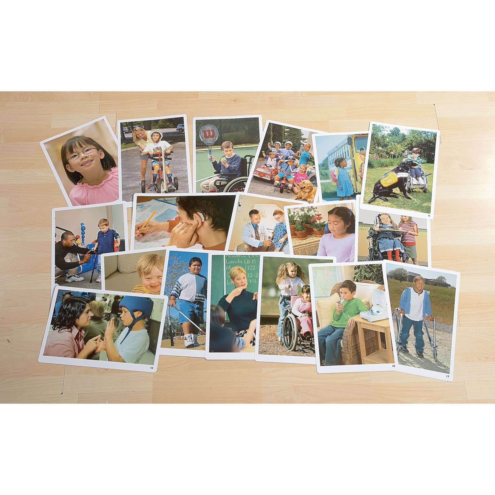 Differing Abilities Poster Pack - Pack of 18