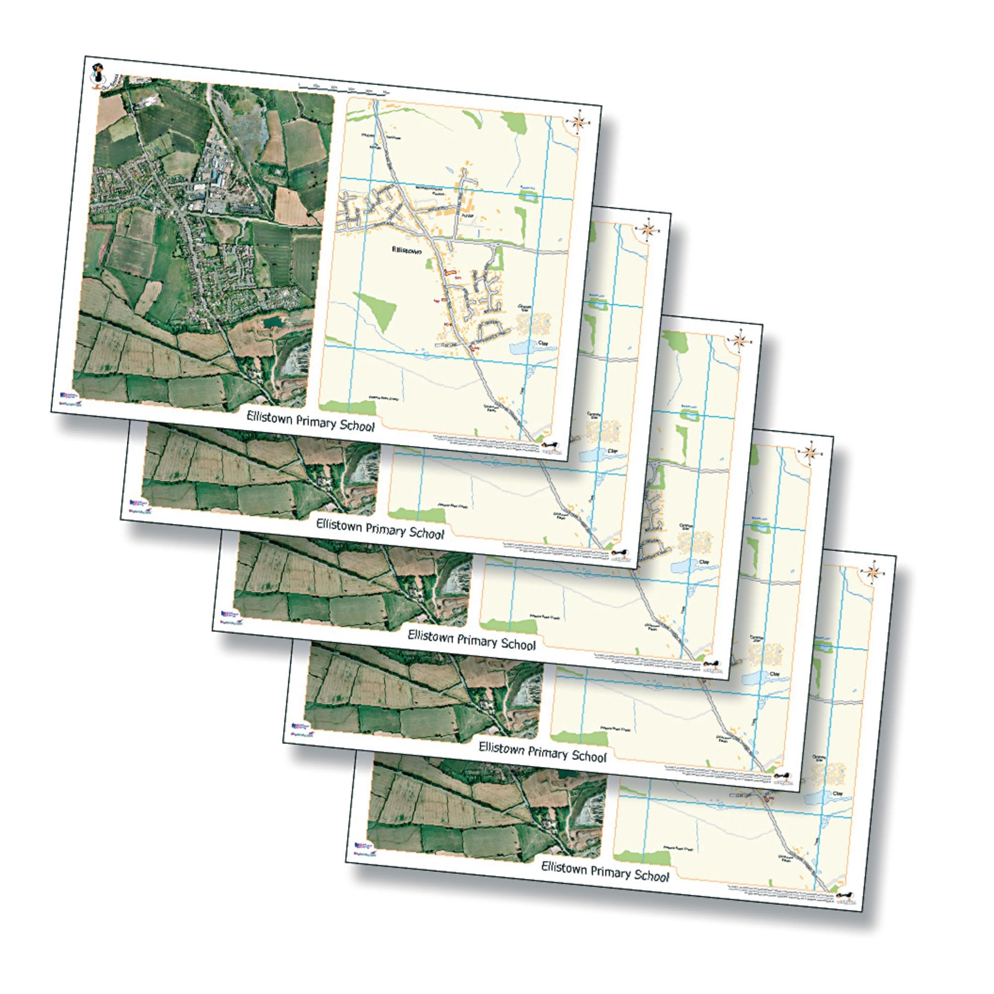 Aero Image Desk mats Set Of 15