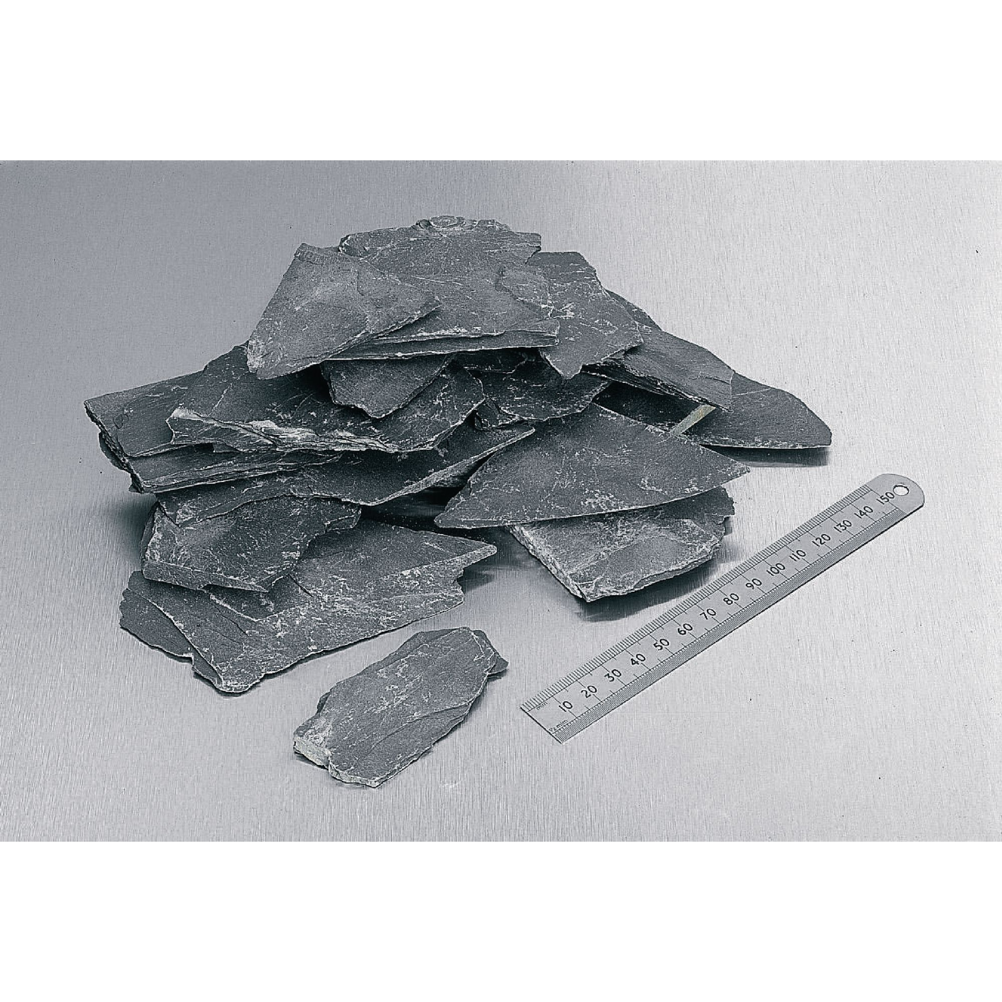 Slate Fragments Metamorphic Rocks