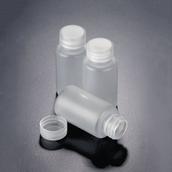 Azlon Translucent Polypropylene Bottles with Screw Cap - 161mm - 500mL