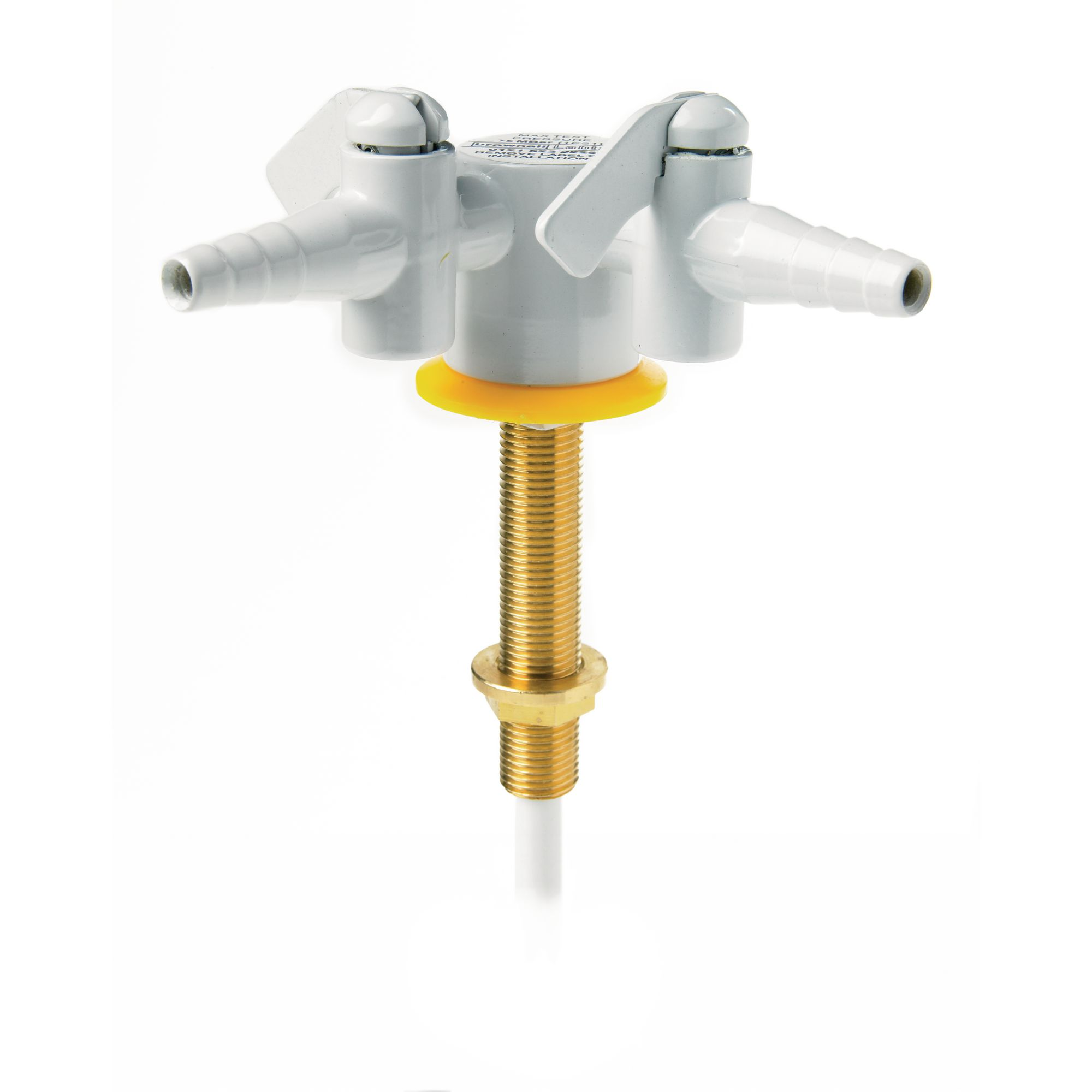 Drop Lever Gas Tap Two Way 180 Degrees Philip Harris