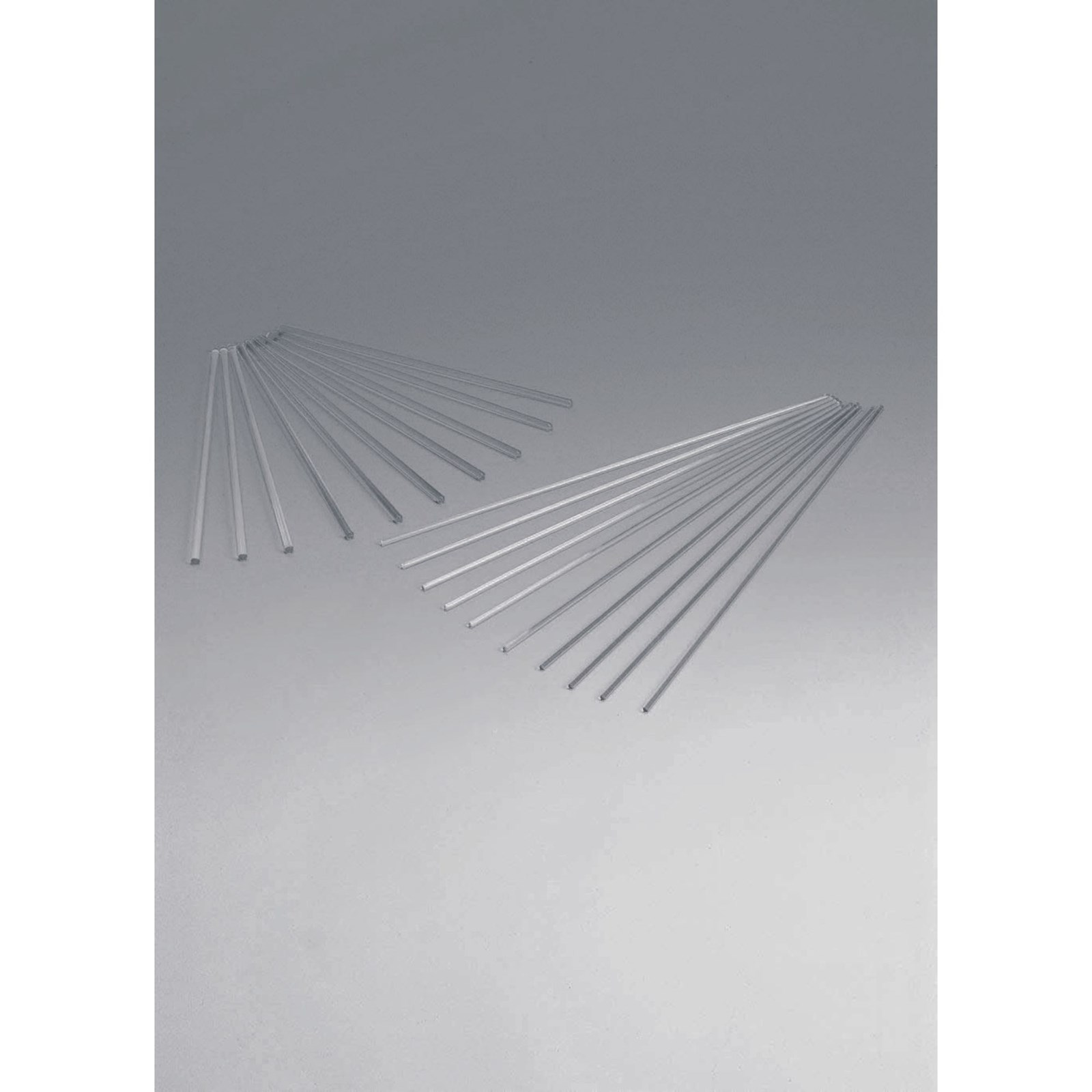 Soda Glass Stirring Rods - 200mm - Pack of 10