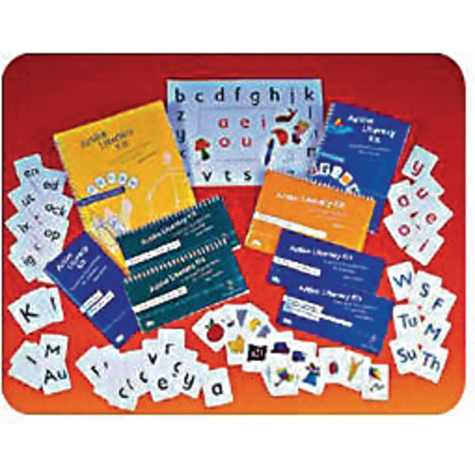 Active Literacy Playing Cards - Deck 1