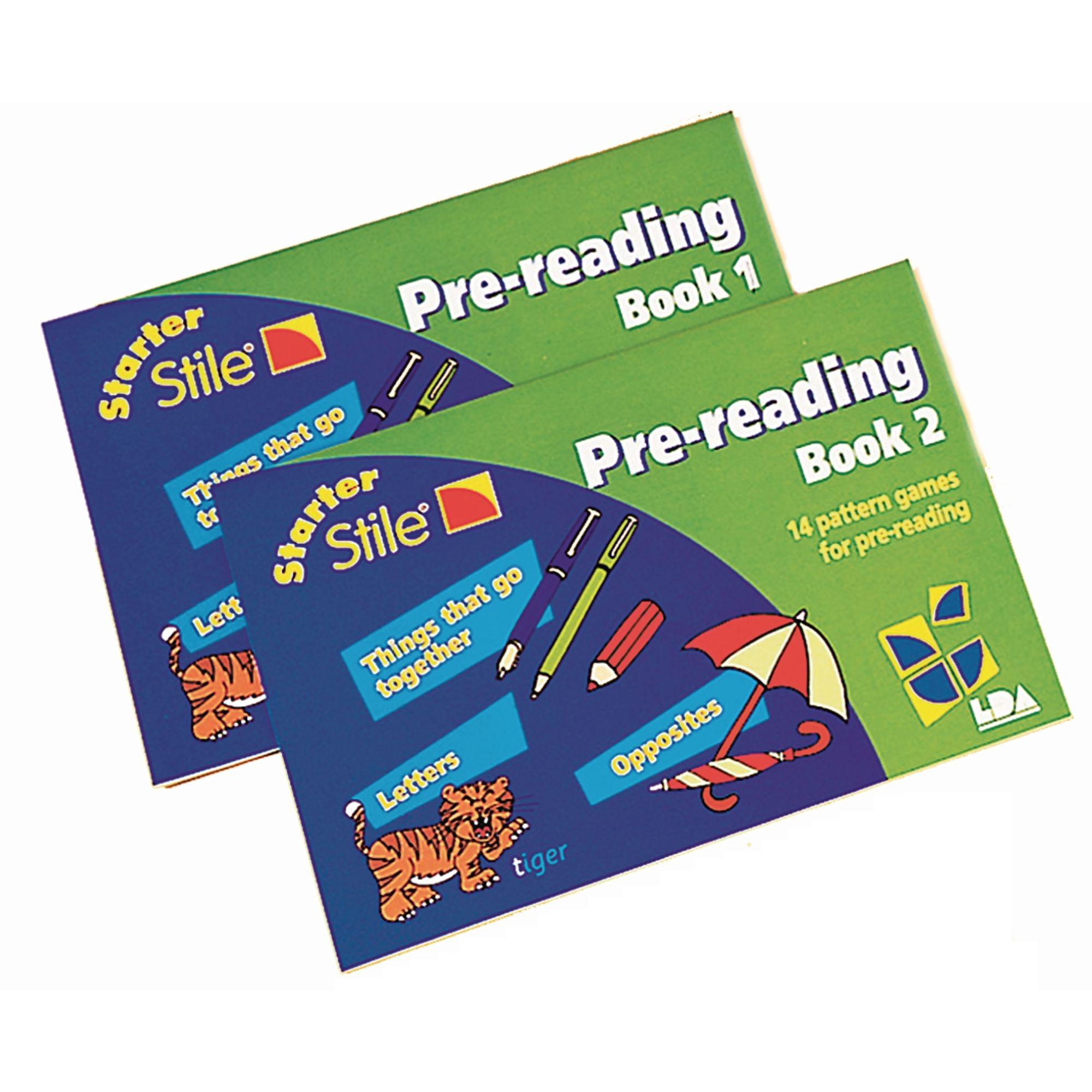 Starter Stile Pre Reading Books