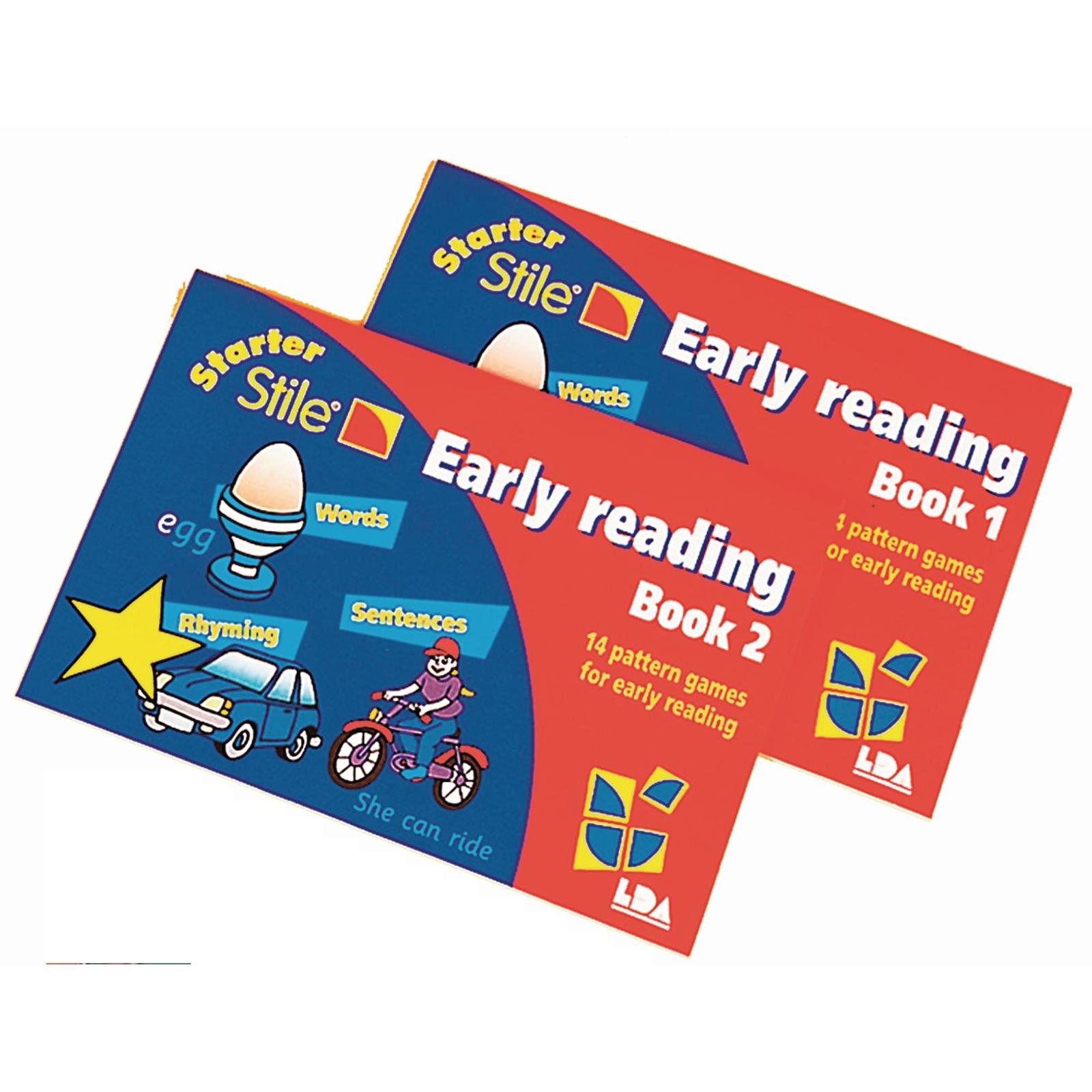 Starter Stile Early Reading Books - Pack of 2