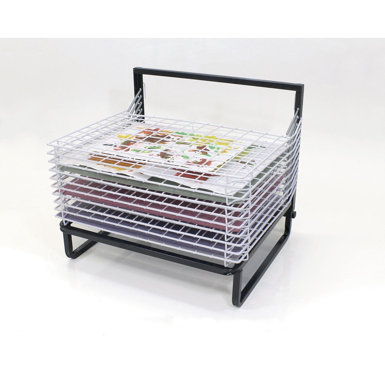 Spring Loaded Dryers - 10 Shelf