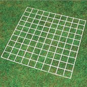 Grid Quadrat 100 squares - Pack of 5