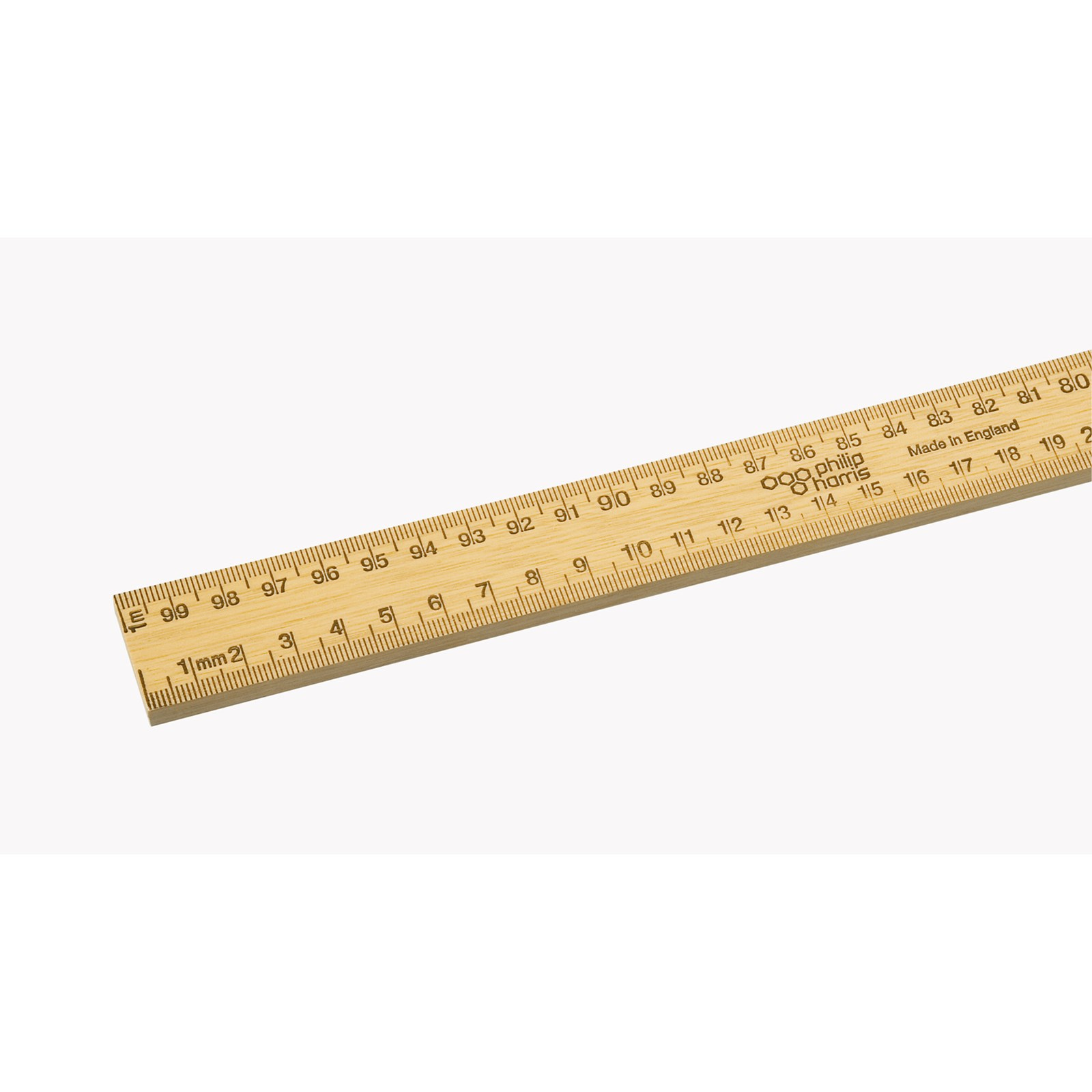 Experiments Instruments Measurement: Horizontal Reading Metre Rule, Both Edges Divided