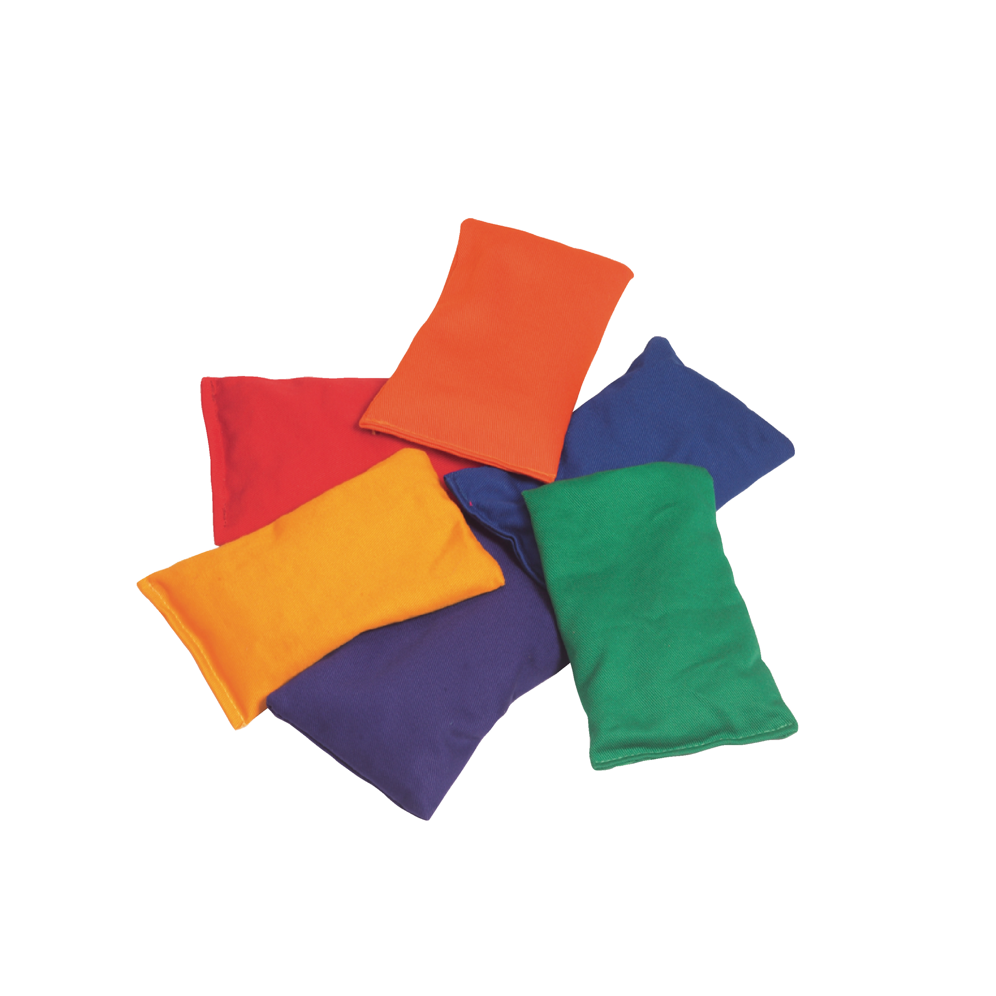 Beanbags - Pack 12 - Red - PPED73990 | Findel Education