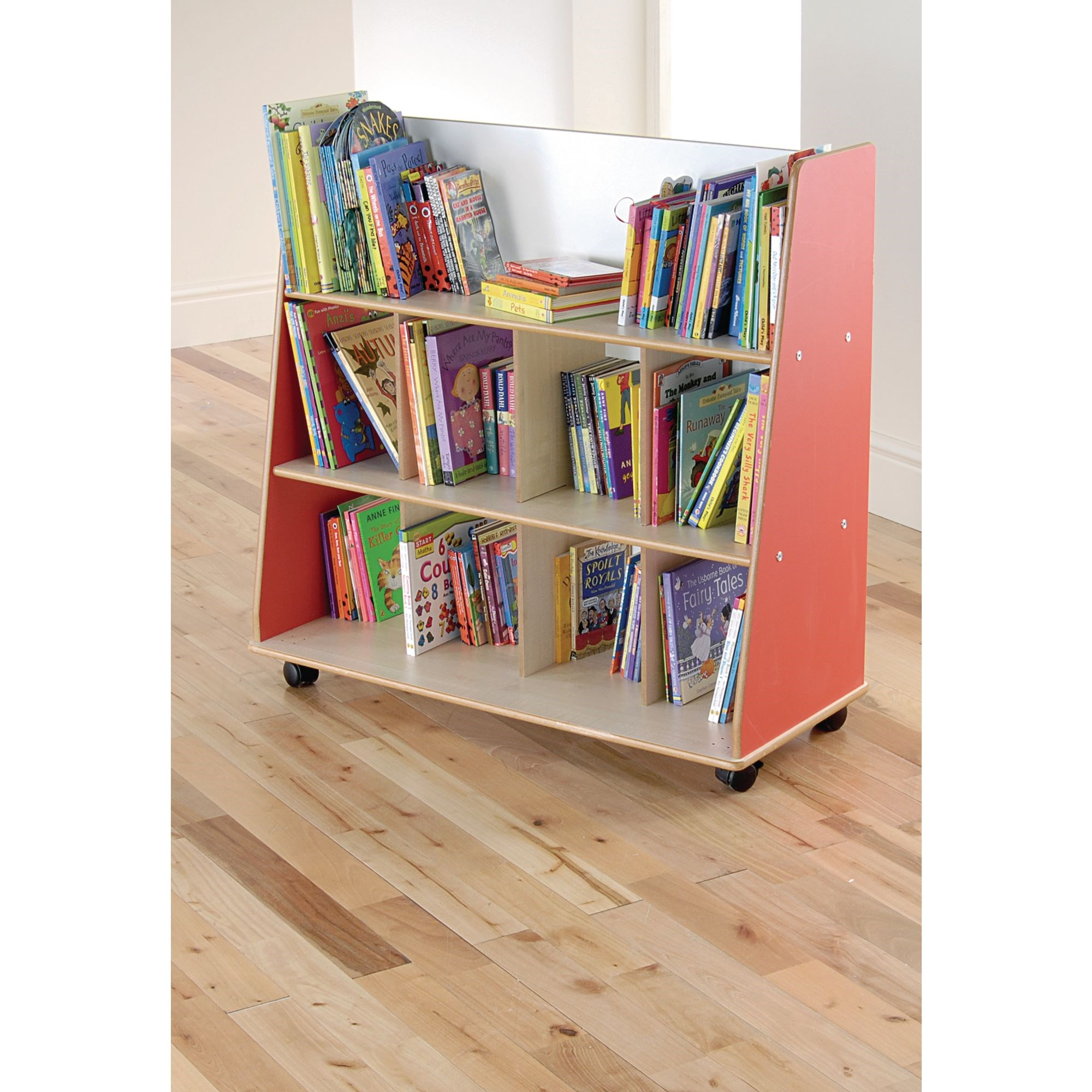 Duo Bookcase Blue Beech