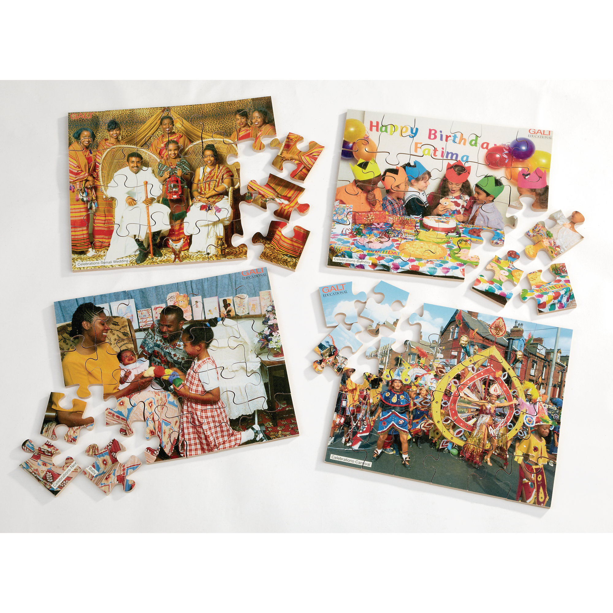 Celebration Jigsaw Pack