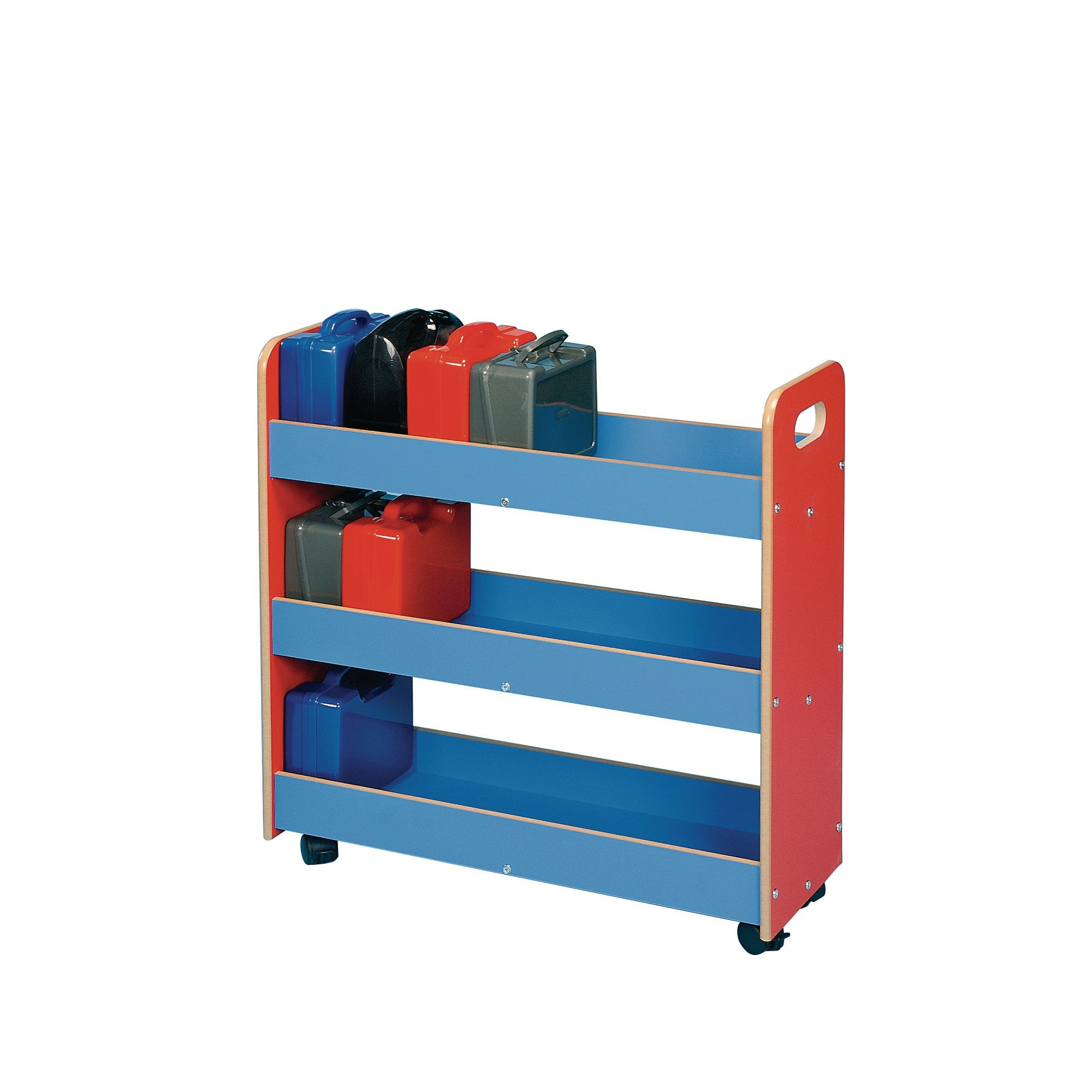 Lunch Box Trolley Red/Blue