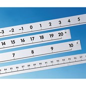 Wall Number Lines - Pack of  4
