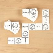 Time Dominoes Set 1