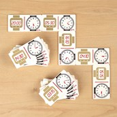 Time Dominoes Set 2