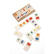Wooden Shape Dominoes