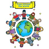 Kids Around the World Bulletin Board Set