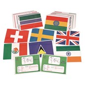 Flags and Facts Cards