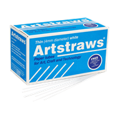 Artstraws - White