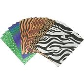 Animal Skins Craft Paper - Pack of 40