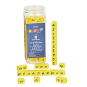 Phonix Yellow Initial Consonant Clusters Cubes - Pack Of 120