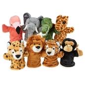 Wild Animal Puppets