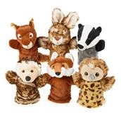 Woodland Animal Puppets