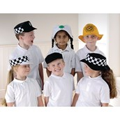 People Who Help Us Hats - Pack of 6