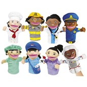 Community Helpers Puppets - Pack of 8