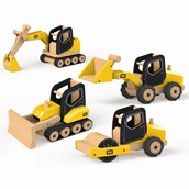Tidlo Construction Vehicles - Pack of 4