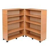Hinged Bookcase - Beech
