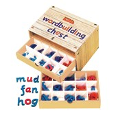 Magnetic Word-building Chest