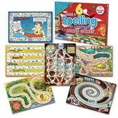 6 Spelling and Language Board Games - Level 3