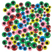 Classmates Wiggly Eyes - Coloured - Pack of 100