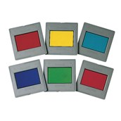 Mounted Colour Filter Set - Pack of 6