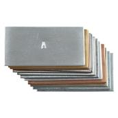 Set of 12 Metal Strips