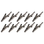 Crocodile Clips - No Sleeve - Pack of 10
