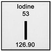 Iodine Solution: 1% in Potassium Iodide - 1L