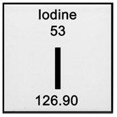 Iodine Solution: 1% in Potassium Iodide - 2.5L