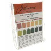 Universal Indicator Paper: Narrow Range (pH 1-11) - Pack of 10 Books