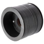Extra Flexible Single Wire - Black 25M
