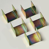 Westminster Electromagnetics Kit Spares: Mild Steel Yokes - Pack of 10