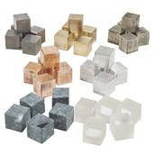 Cubes for Density Investigation: Pack of All Materials