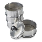 Stainless Steel Sieves - Pack of 3 with Different Meshes