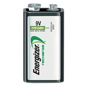 Rechargeable Nickel metal Hydride Battery - 9V, HR22